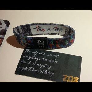 ZOX Jewelry - ZOX Strap Wristband & Card - This is Me